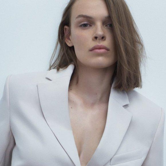 Zara Short Sleeve Blazer